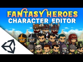 Asset Review: Fantasy Heroes (Character Customization) | Unity 2018
