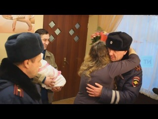 В Казани выписали женщину, которую в роддом доставили сотрудники ГИБДД