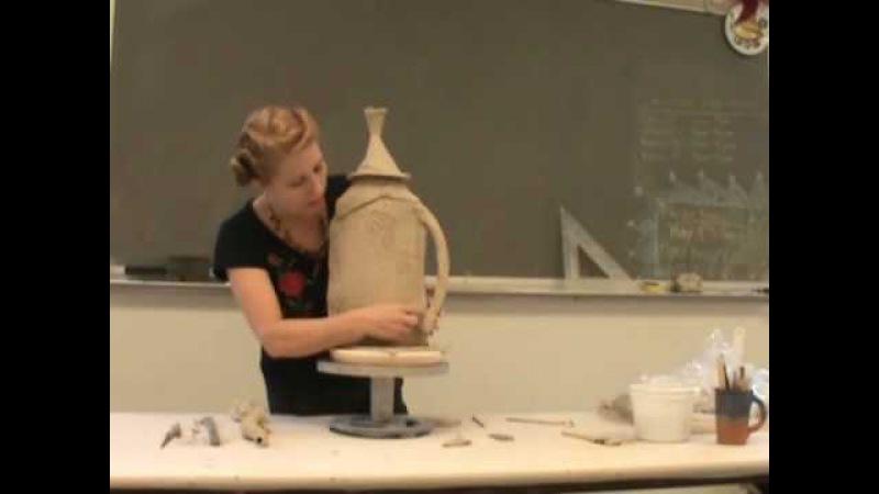 Handbuild Teapot Part 4