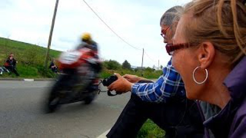 Isle of Man TT 2ft away 180mph ★HD★ Jane's first time at the races 2013