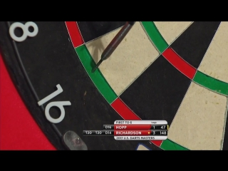 Max Hopp vs Dave Richardson (PDC US Darts Masters 2017 / Round 1)