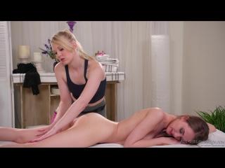 Samantha hayes & lily rader (corporate massage) [blonde, brunette, body massage, lesbians, masturbation, 1080p]