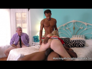 [WatchingMyDaughterGoBlack] Tiff Bannister  (1080p) Interracial, 2 on 1, 18+ Teens, Big Tits, Blonde, Facial, Shaved