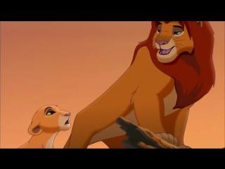 """We are one (из м/ф """"the lion king/король лев"""")"""