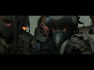 Вырезанная сцена Властелин колец: Возвращение короля. Побег от гоблинов.