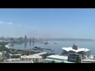 Турецкие пилоты продемонстрировали мастерство в Баку