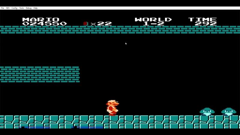 FCEUX 2 1 4a Super Mario Bros E 17 05 2018 21 42 09