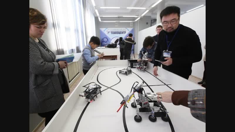 Техногород Булат, студия робототехники. Фрагмент 1. Видео: Ловцов О.Б.