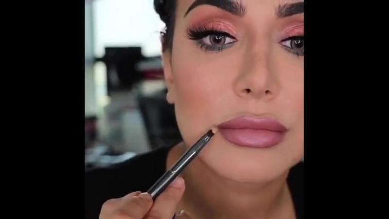 Пошаговый видео урок макияжа от Худа Каттан