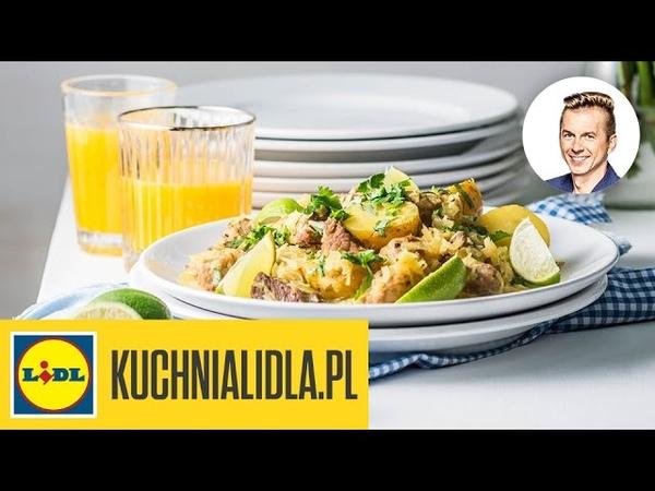 Szynka w kapuście curry - Karol Okrasa - przepisy Kuchni Lidla