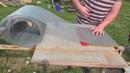 Применение декоративной сетки Streck при сборке дна улья