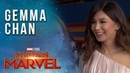 Gemma Chan Minn Erva talks Captain Marvel LIVE from the Red Carpet