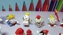 Коллекция Киндерино в песочных шариках. Много игрушек киндер! Kinderino, many kinder surprises!