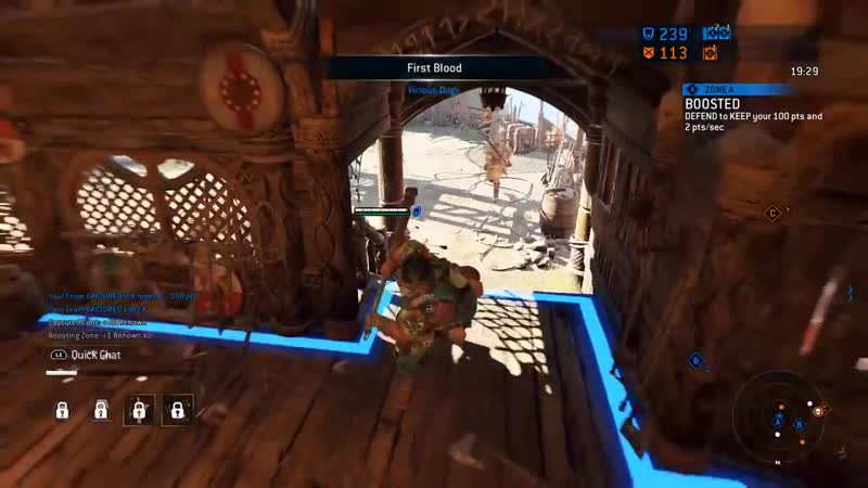 For Honor Shugoki The Largest Assassin Requiescat in Pace online video
