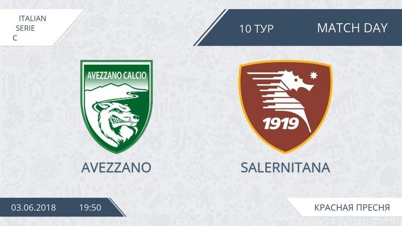 AFL18. Italy. Serie C. Day 10. Avezzano - Salernitana