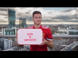Dalot takes a crash course in learning to speak like a Mancunian