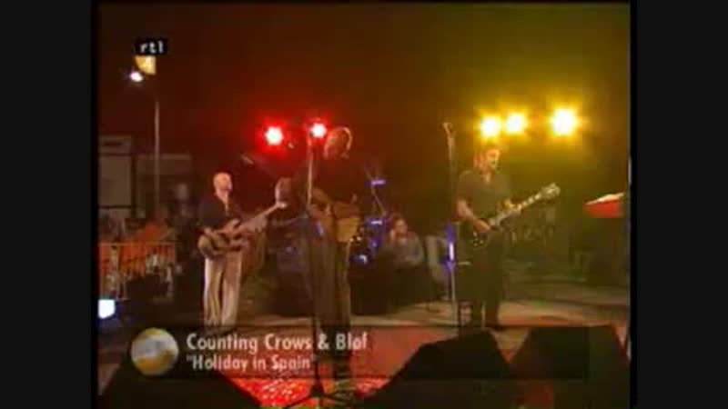 Blof Counting Crows Holiday In Spain
