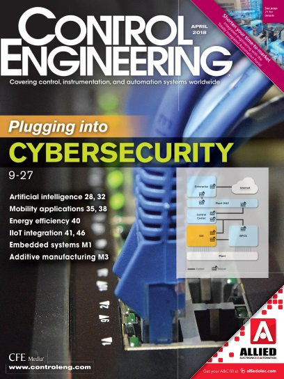 Control Engineering - April 2018