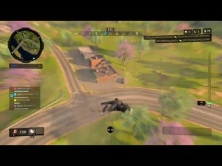 Alright i'm gonna land on this car and kill this dude while he's driving. black ops 4