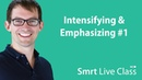 Intensifying Emphasizing 1 Smrt Live Class with Shaun 31