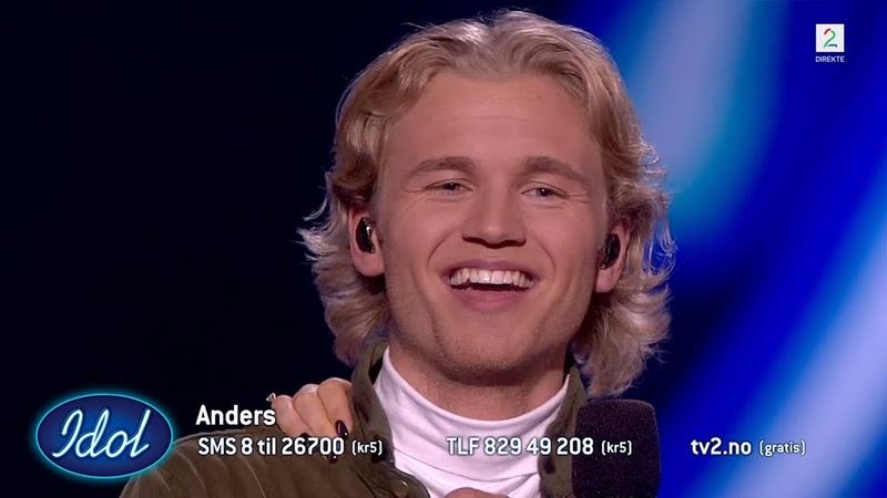 Anders tok Idol studio med storm og drepte sin Arif cover Idol Norge 2018