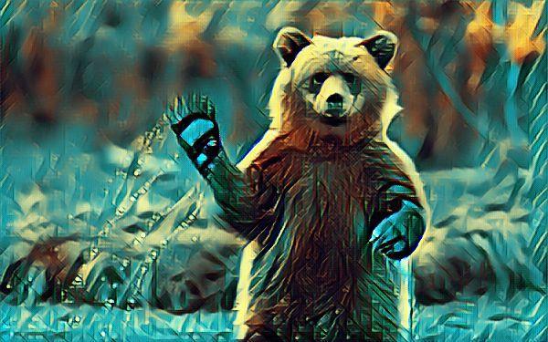 Влад и медведь фото
