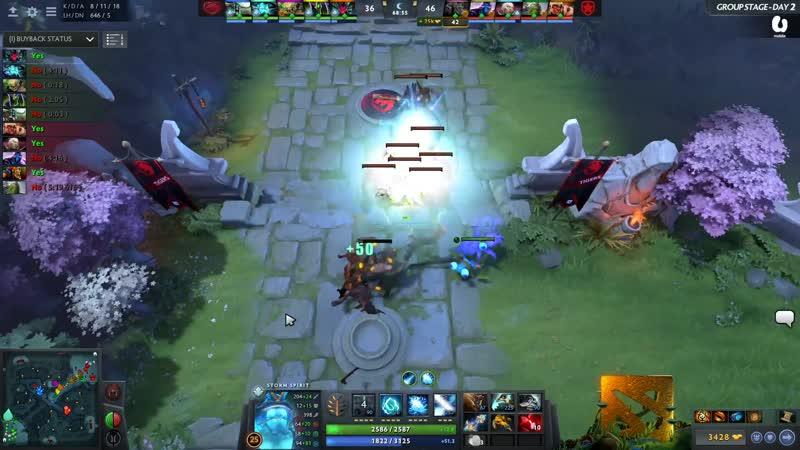 4 kills by Rubick Black Hole @ Tigers vs Gambit
