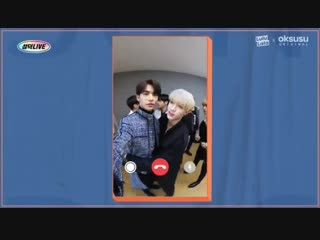 [VIDEO] 181120 Sungduck: Facetime Live with Stray Kids