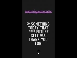 08.10.18 | публикация в «instagram stories» кэтрин