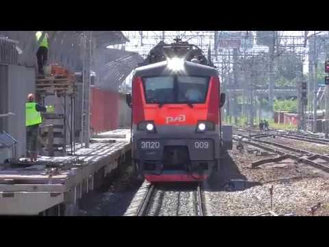 ЭП20-009 с поездом №706 Стриж Москва-Нижний Новгород