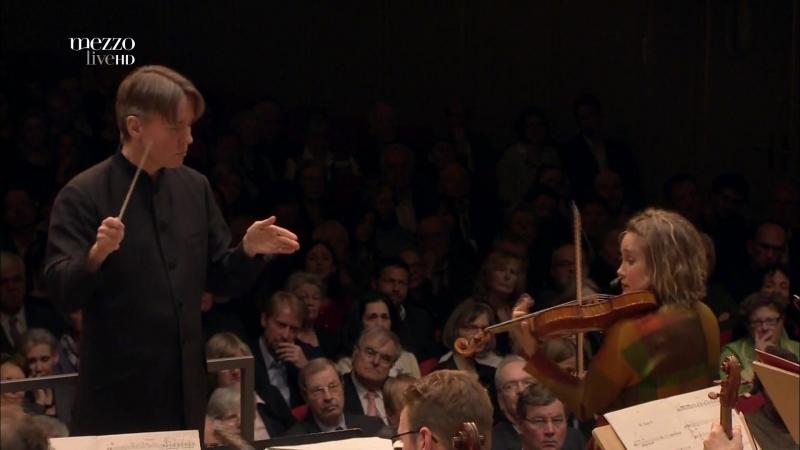 Esa Pekka Salonen Composer Director Violin Concerto Leila Josefowicz III Pulse II Tonhalle Orchester Zürich 2015