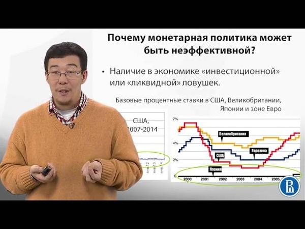 10.2 Почему монетарная политика может быть неэффективной