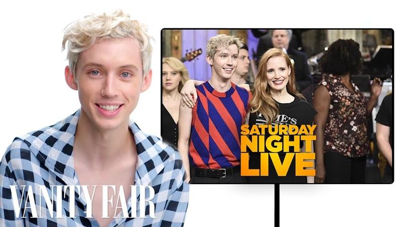 Troye Sivan Breaks Down His Fashion Looks From SNL to the Met Gala Vanity Fair