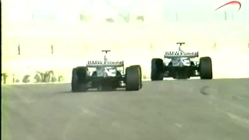 Inside GP 2005 Williams BMW in Sakhir Int Circuit