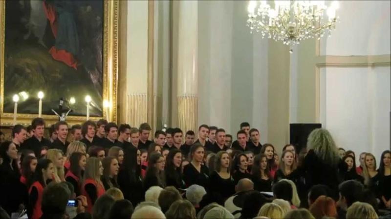 Chorus Comenianus - Prekrasnoe daleko (Vianočný koncert 2014 Košice)