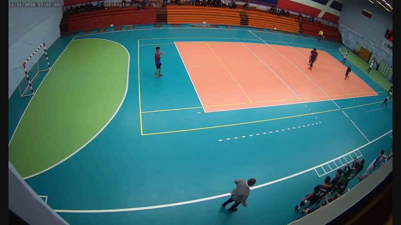 Бахин Александр(2-ой мяч/Локомотив 3-3 Автомобилия)
