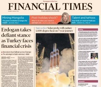 Financial Times Europe - 13 08 2018