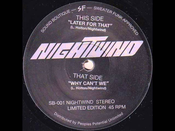 Nightwind - Why Cant We