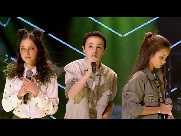 Raphaelle Romy Stijn 'Never Be Like You' Battles The Voice Kids VTM