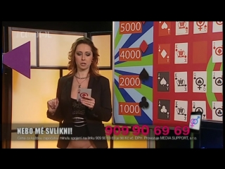 Naked quiz show