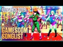 Just Dance 2019 Official Songlist Gamescom Songlist