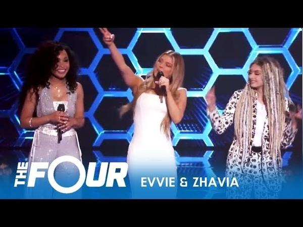 'The Four' Comeback Zhavia Evvie McKinney EPIC Performance S2E7 The Four