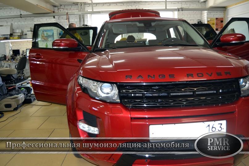 Комплексная шумоизоляция Land Rover Evoque, изображение №2