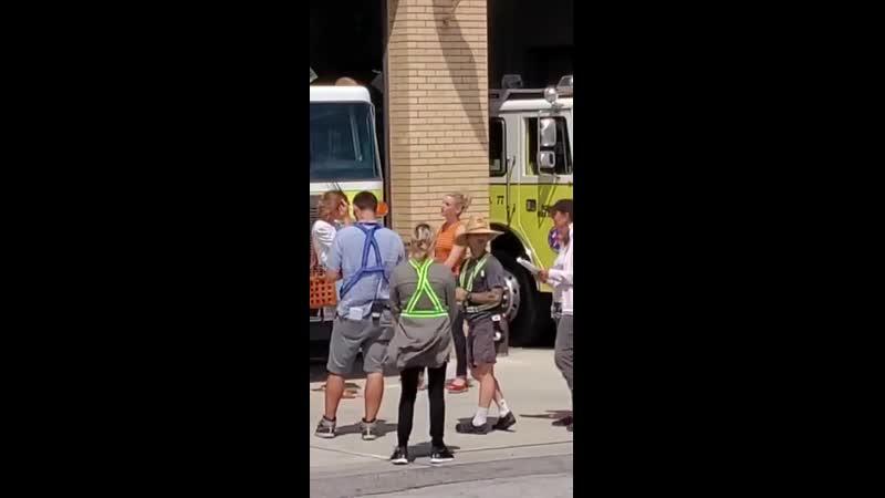 Съёмки 8-ого сезона сериала Пожарные Чикаго