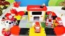 Construimos una estación de bomberos de Lego. Vídeos para niños