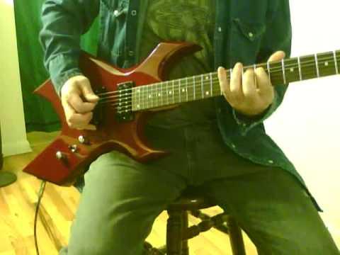 B C RICH WARLOCK Guitar BC esp ltd schecter ibanez