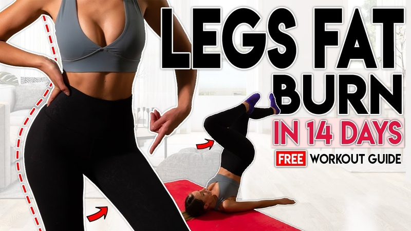 LOSE LEG FAT in 14 Days Free Home Workout Guide
