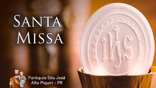 SANTA MISSA | 18ª Semana do Tempo Comum | Terça-feira | 04/08/2020
