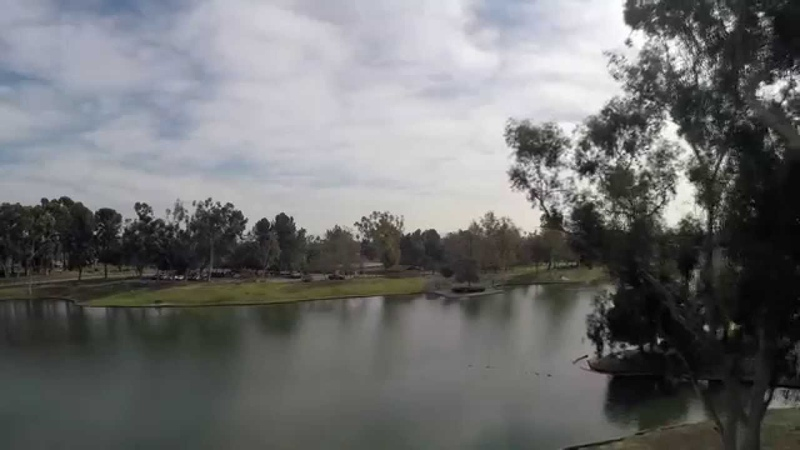 Flying At Tri City Park Placentia, Ca