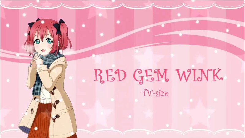 KySdzsts - RED GEM WINK (cover español)